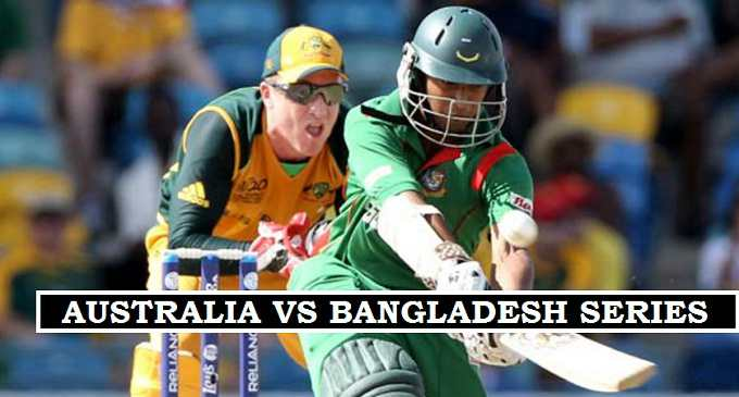 Aus vs Ban Test match