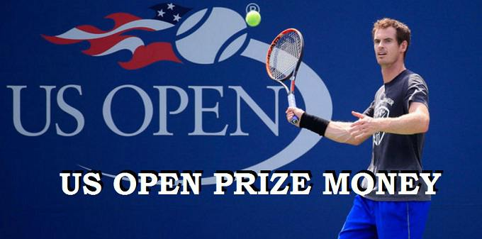 Money prizes for 2018 us open