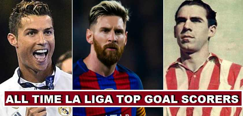 Most goals in La Liga 2018