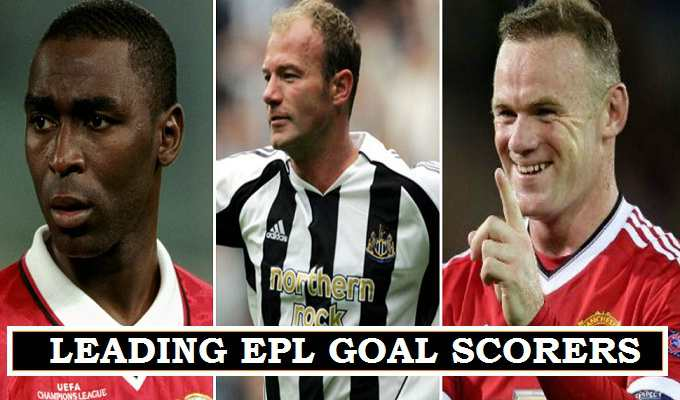 EPL Leading all time scorers
