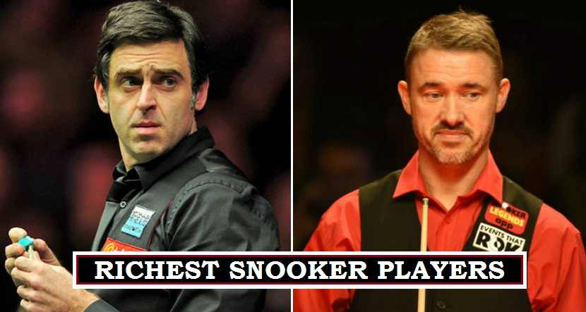 Ronnie O'Sullivan rich snooker player