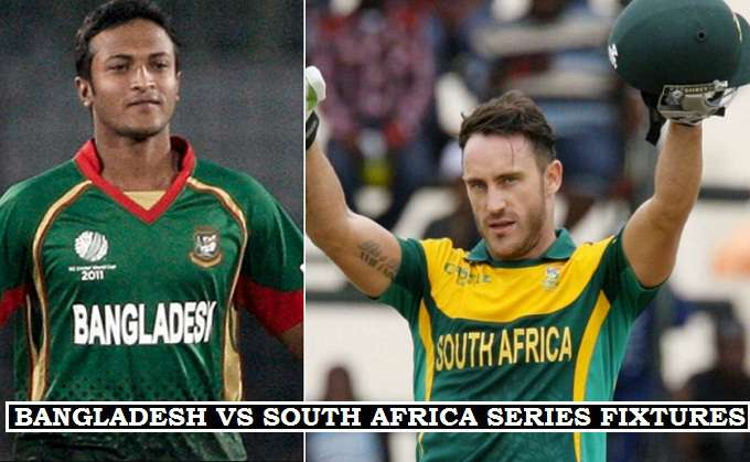 South Africa 2017 T20 Matches
