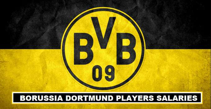 Dortmund Players weekly wages 2017