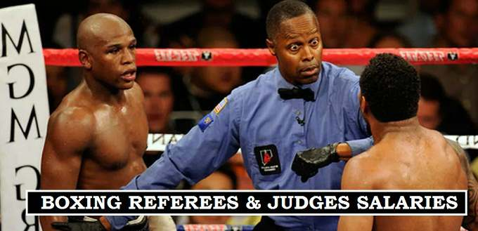 Boxing Officials Salaries 2017