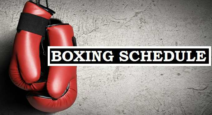 Boxing PPV Matches 2017