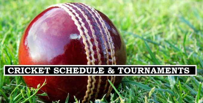2017-18 cricket fixtures