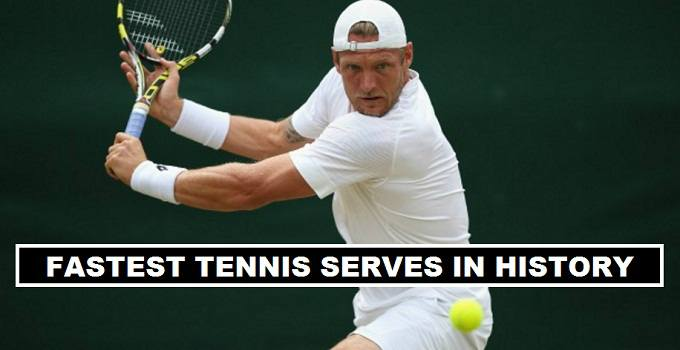 Sam Groth Fastest tennis service