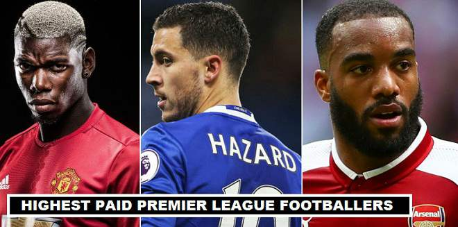 Richest EPL Players 2017
