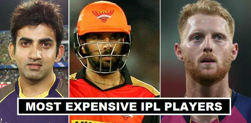 IPL Players 2018 Expensive