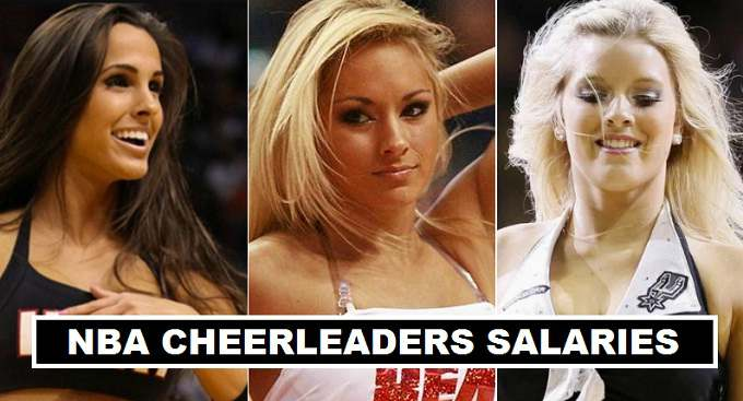 NBA Cheerleaders Earnings 2017