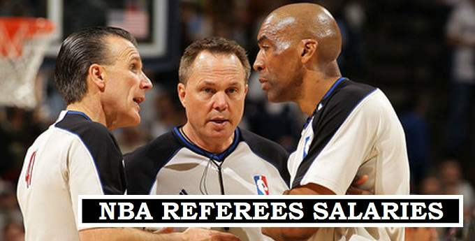 NBA Referee Annual Earnings