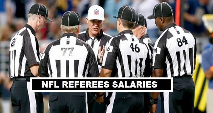 NFL Referees Per Match Fees 2018