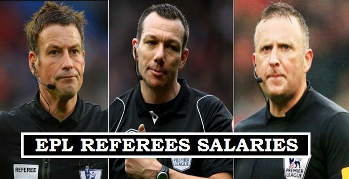 EPL Officials Earnings 2017