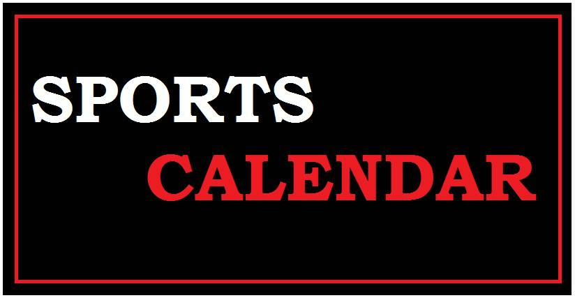 Upcoming Sports event 2018