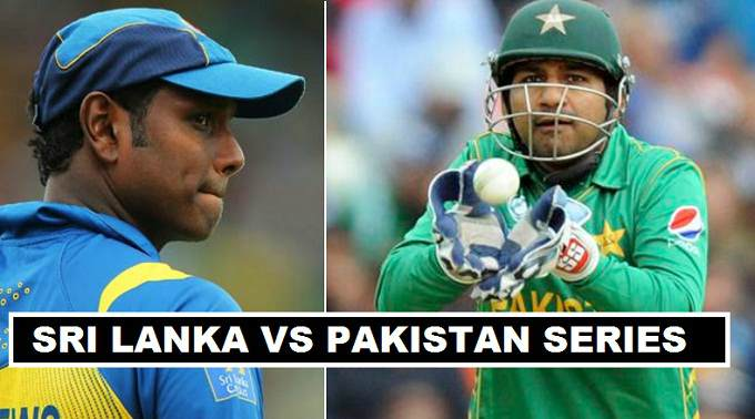 Sri Lanak vs Pakistan 2017 Series