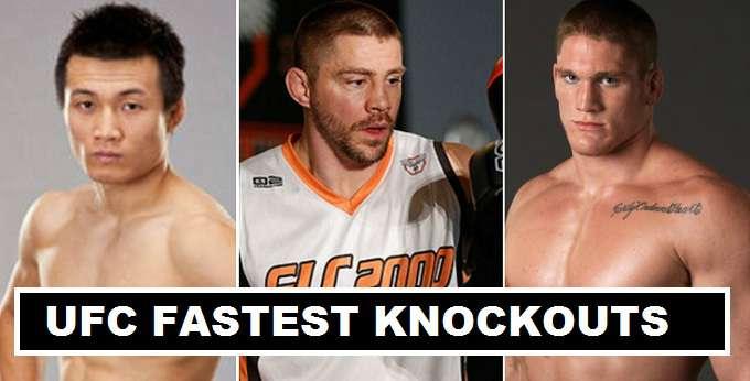 Fastest UFC Knockouts 2017