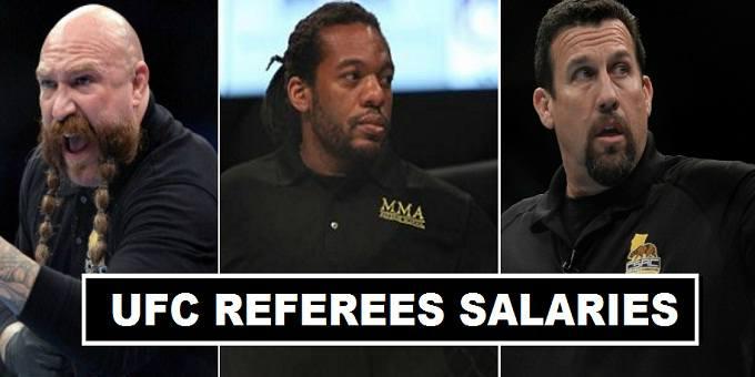 UFC MMA Referees Salaries 2017