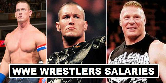 WWE Wrestlers Earnings 2018