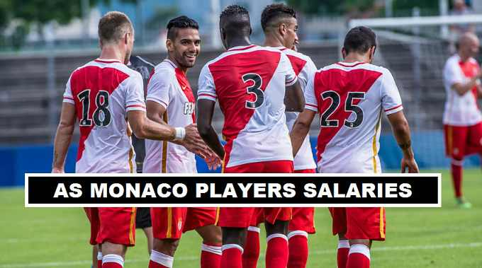 Monaco Players Weekly Wages 2017