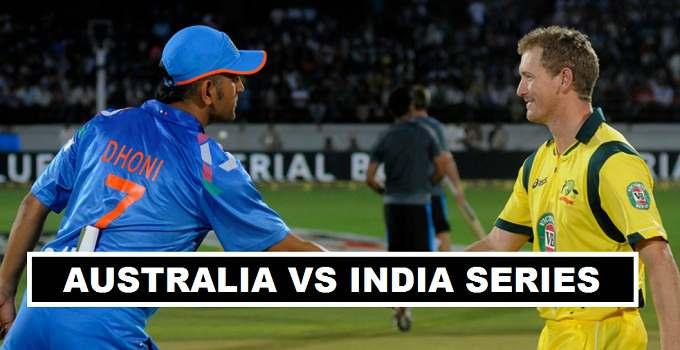 Australia tour to India 2017