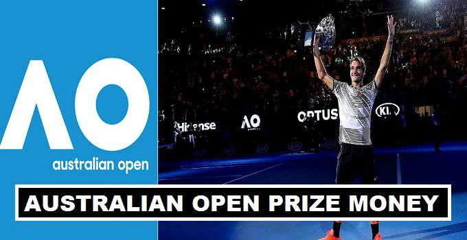 Australian Open 2018 Prize Money Table