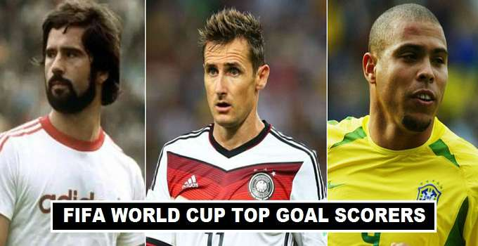 All Time Leading Fifa World Cup Goal Scorers