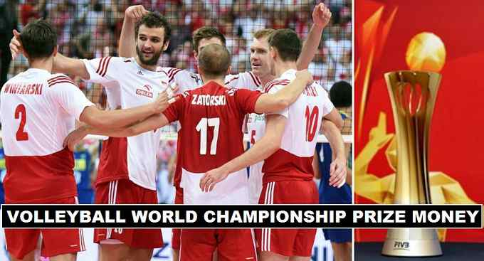 Volleyball Men's World Championship 2018 Prize Money