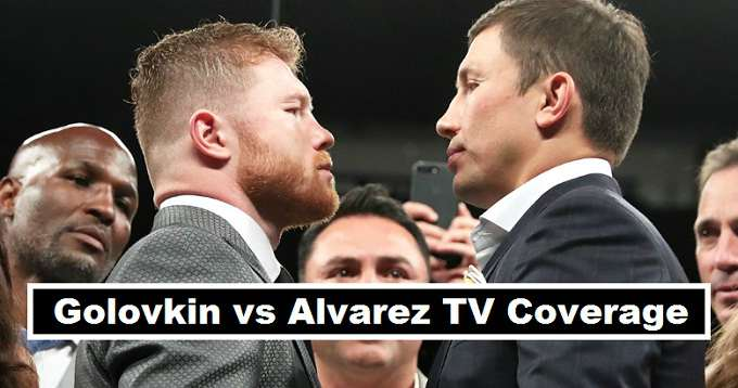Golovkin vs Alvarez Fight Broadcasters 2017