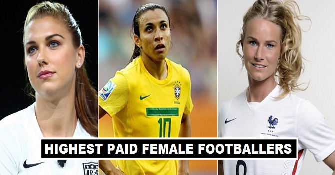 15 Highest Earning Women Footballers 2017