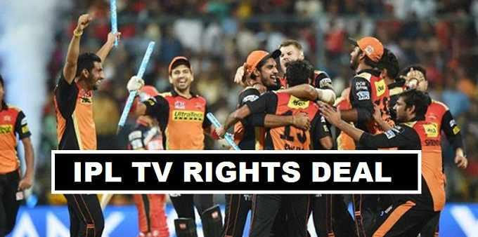 IPL TV Rights sold in £1.97 Billion Star Sports