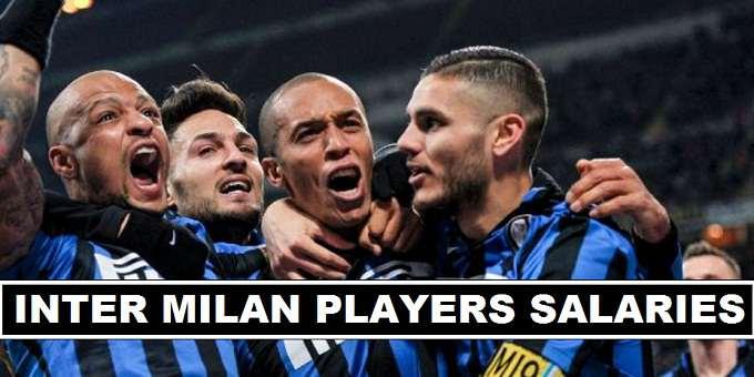 Inter Milan Players Weekly Wage 2017
