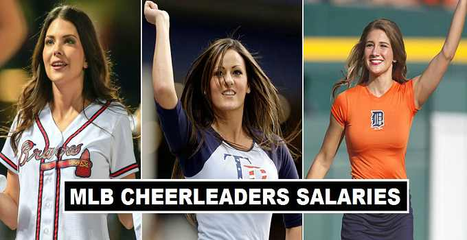 MLB Cheerleaders Per Match Salary 2017