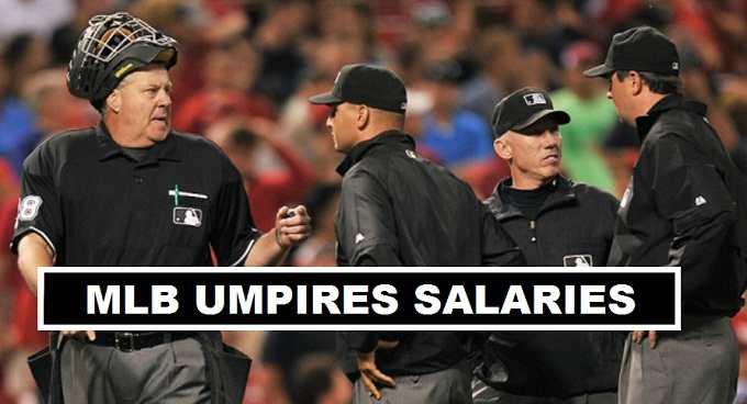 Major League Baseball Umpires Salaries 2017