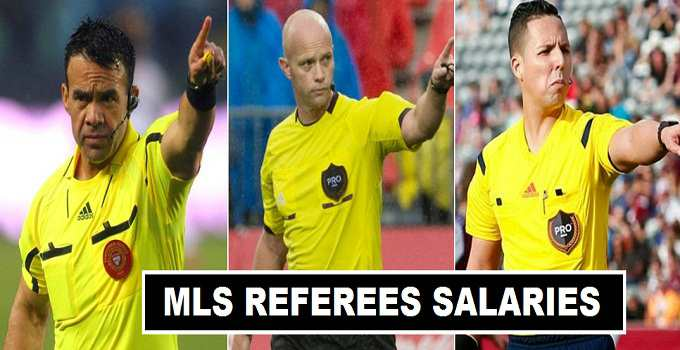 MLS referees per match Fees 2017