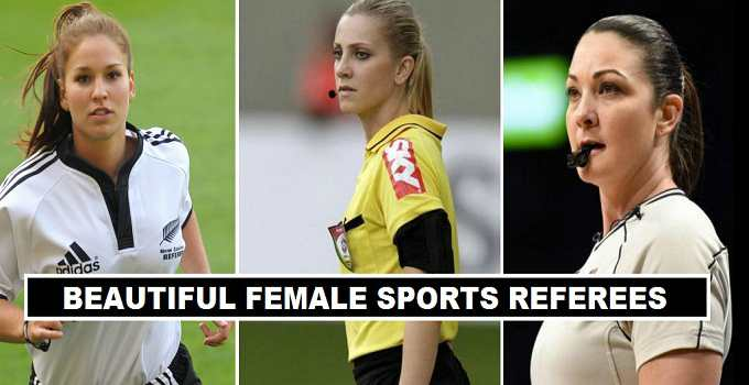 Hottest Sports Female Referees in the World