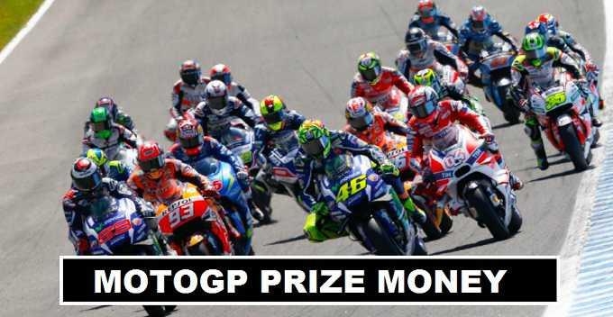 MotoGP, Moto3,2 Superbike Prize Money 2017