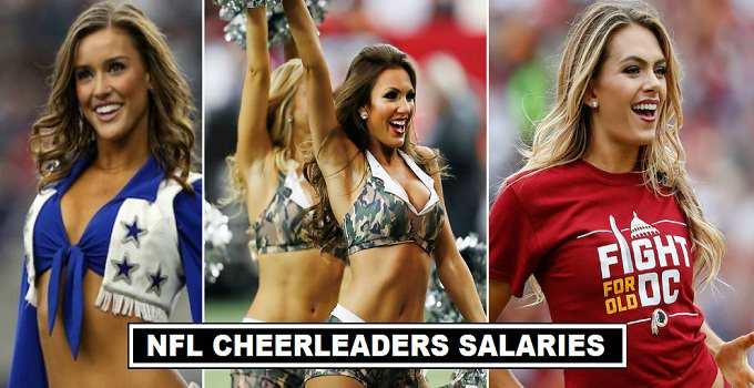 NFL Cheerleaders Per Match Fees 2017