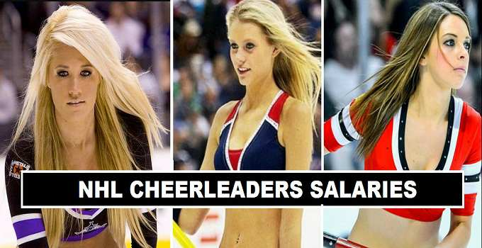 NHL Cheerleaders Per Match Fees 2017