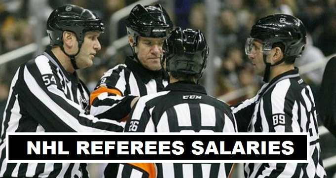 NHL Linesman Referees Salaries 2017