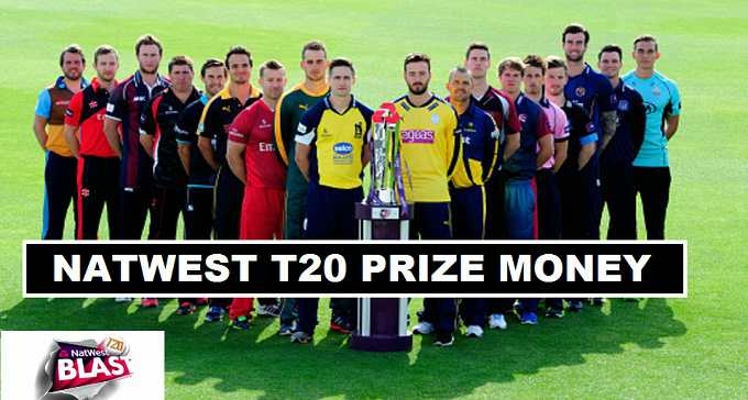 Natwest T20 Blast Winners Prize Money Share