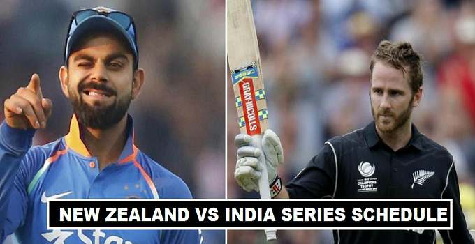 India vs New Zealand Series 2017 Coverage