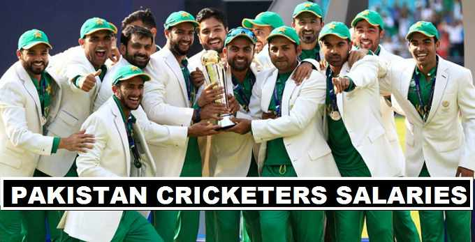 Pakistan Cricketers Salaries 2017