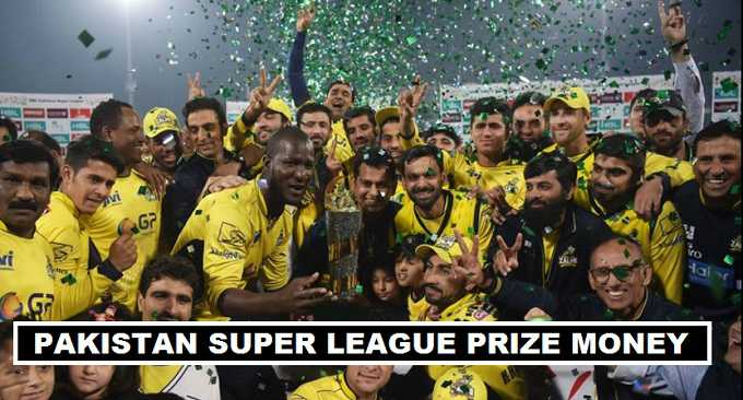 PSL 2018 Winners Prize Money Share