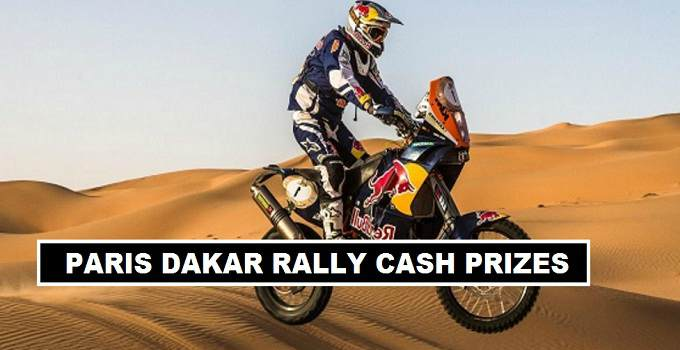 Paris Dakar Rally 2018 Prize Money