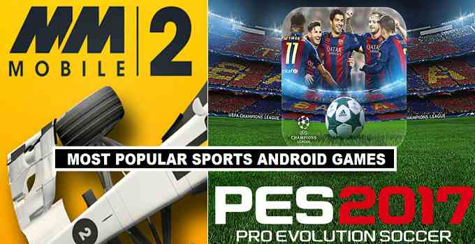 Top 20 Android Sports Games 2017