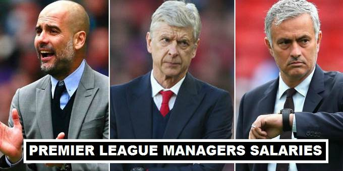 EPL Managers Salaries 2017
