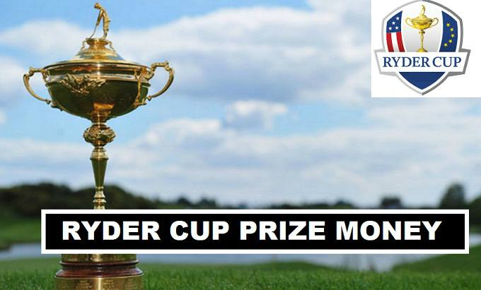Ryder Cup Golfers Prize money 2018