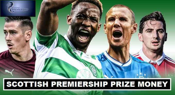 Scottish Premiership 2017 Prize Money