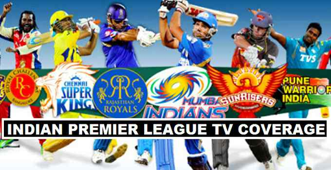 IPL 2018 TV Coverage Worldwide