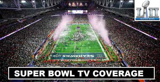 Super Bowl XLII 2018 TV Coverage